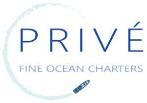 Prive' Fine Ocean Charters Logo